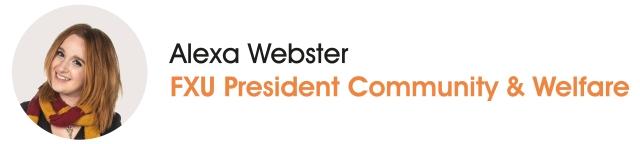 FXU President Community & Welfare